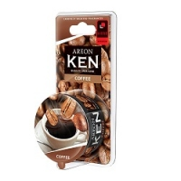 AREON KEN BLISTER Кофе (Coffee), 1шт AKB09
