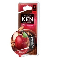 AREON KEN BLISTER Яблоко и корица (Apple & Spice), 1шт AKB08